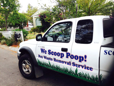 We scoop poop - Marin and Sonoma pet waste removal
